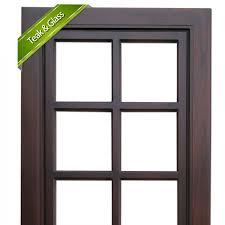 wooden glass door 4410