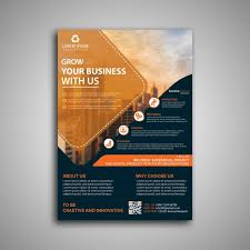 Business Flyer Template Free Download Corporate Business Flyer Template Template For Free Download