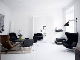 white room black furniture. Interesting Black White Room With Black Furniture  My Web Value For L