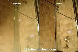 hard water stains on shower doors how to clean glass shower doors with hard water stains