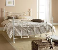 want a rustic white metal bed frame! | There is no place like home ...