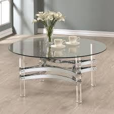coaster glass coffee table coaster contemporary glass coffee table with acrylic base coaster furniture black glass