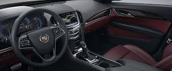 cadillac 2014 ats black. 2014 cadillac ats interior with morello red leather and jet black accents ats e