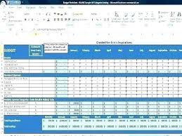 Personal Finance Budget Worksheets Budget Worksheet Template