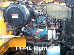 International T444E