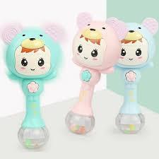 <b>Cute Baby Teething</b> Stick Happy <b>Teether</b> Early Education Toy ...