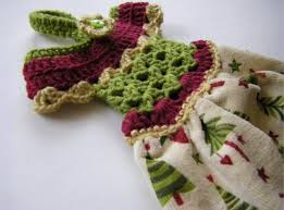 Crochet Towel Topper Pattern Awesome Crochet Dress Towel Topper Pattern Video Tutorial