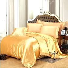 orange and white bedding sets solid black gold gray satin duvet cover twin queen king imitate medium size of white bedding