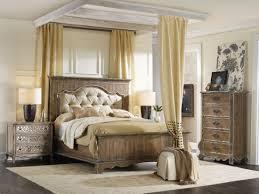 Panama Jack Bedroom Furniture Hooker Furniture Chatelet Upholstered Mantle Panel Bedroom Set