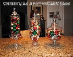Apothecary Jars Christmas Decorations Karen At Home Christmas Apothecary Jar Project 16