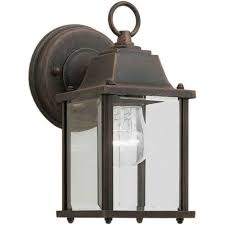 superb exterior house lights 4. Modren Superb Filament Design Burton 1 Light Painted Rust Outdoor To Superb Exterior House Lights 4