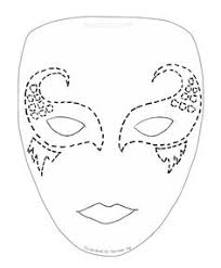 Blank Face Masks To Decorate full face mask template Google Search Masks Pinterest Mask 40