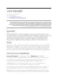 100 Art Director Resume Samples Resume Cover Letter Sample