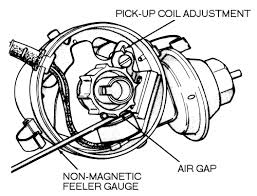 changing to electronic ignition for b bodies only classic mopar chrysler electronic ignition vacuum distributor air gap 008 view 11 gif