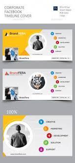 corporate facebook timeline cover template psd design graphicriver