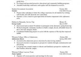 Sample Simple Resume Format And Resume Template For Google Resume