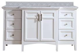 single sink white bathroom vanity. jospeh carrara marble bathroom vanity, white, 60\ single sink white vanity k