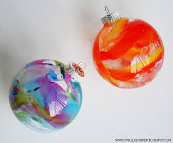 picture of crayon melt glass ornaments diy