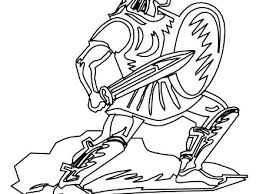 Roman Soldier Coloring Page Roman Soldier Coloring Page Coloring