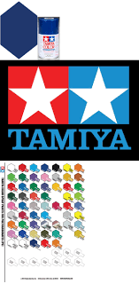 Tamiya Ps Paint Chart 1970 Now 2617 Tamiya Ps 59 Dark Metallic Blue Polycarbonate