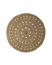 made of 100 jute for an all natural feeling and also eco friendly choice for a beautiful durable rug