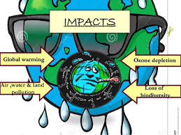 impact of human greed on earth