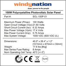 amazon com windynation complete solar 100 watt panel kit 100w solar 100 watt panel kit 100w solar panel 20a lcd display pwm charge controller mc4 connectors mounting z brackets for 12v battery off grid rv