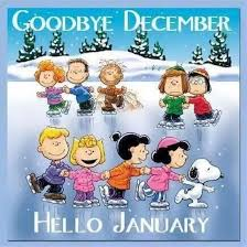 goodbye december hello january. Goodbye December Hello January On