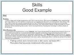 Resume Examples Skills To Put On Resume