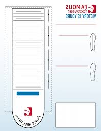 Printable Foot Width Chart Adorable Free Kids Foot Sizing Chart Digibless