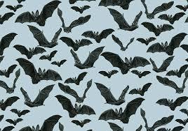 Bat Pattern Inspiration Patterns Black Animals By Silvia Masdeu Illustration Bat Pattern