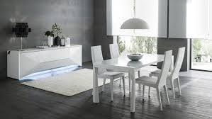 modern dining room tables italian. italian table with three positions and leather chairs modern dining room tables i