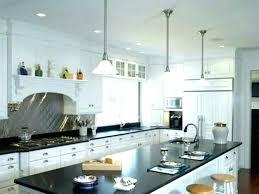 over island lighting kitchen pendant above height