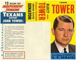 Campaign Brochure Slideshow John Towers Historic 1961 Senate Campaign The