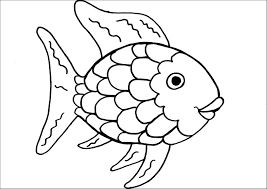 Rainbow fish coloring pages printable - ColoringStar