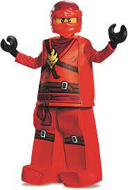 LEGO Ninjago 99084L Kai Prestige Kostüm (klein 4-6 jahre ): Amazon.de:  Spielzeug