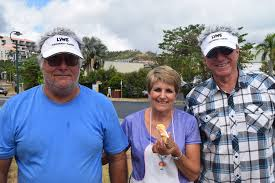 John Grosskreutz, Ida Arici and Sam Vasta eating cannoli at ... | Buy  Photos Online | Fraser Coast Chronicle