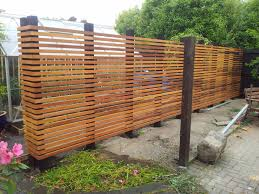 Love this diy fence - beautiful idea for a smaller greenbelt to peek  through to the