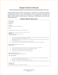 Sample Resume For Teaching Staff Resume Ixiplay Free Resume Samples