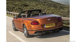 2018 bentley convertible. perfect bentley 2018 bentley continental gt supersports convertible color orange flame   rear threequarter wallpaper with bentley convertible
