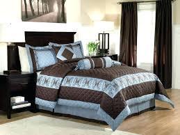 blue brown comforter set blue and brown bedroom set interior comforter sets set light aqua chocolate blue brown comforter