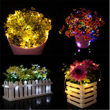Cutting Micro Led String Lights 20 40 50 100 Led Copper Wire Fairy Lights String Party