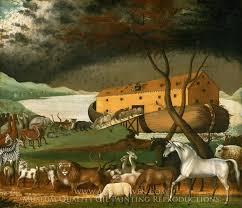 edward hicks noah s ark oil painting reion