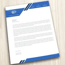 Corporate Letterhead Design Template Create Company Free Online For