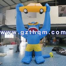 Decorative <b>Inflatable Monkey</b> Character/Inflatable Lifelike Animal ...