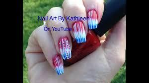 diy easy grant american flag nail