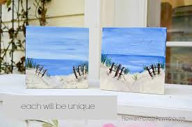 paint a beach happy painting
