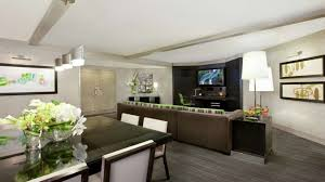 Modern Mirage Two Bedroom Tower Suite Within Las Vegas Hotels Suites 2  Living
