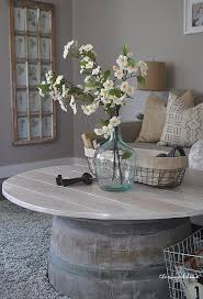 Vintage French Soul ~ Wine Barrel Coffee Table, Make An Easy Wine Barrel Coffee  Table, Farmhouse Coffee Table Made Easy, DIY Wine Barrel, Farmhouse Coffee  ...