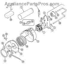 whirlpool 31001043 blower wheel appliancepartspros com part diagram
